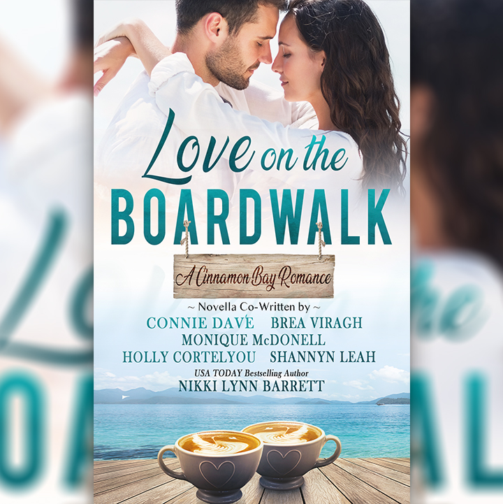 Love on the Boardwalk book cover.