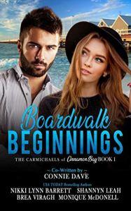Boardwalk Beginnings - The Carmichaels of Cinnamon Bay - Book 1